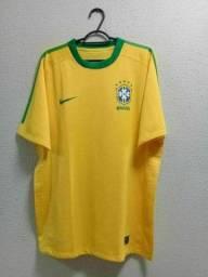 Camiseta Brasil oficial copa do mundo 2010