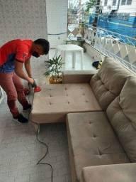 Título do anúncio: Lavagem a seco higienização do seu sofá