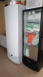 Freezer vertical Gelopar 575 litros com controladora de temperatura