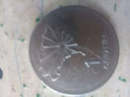 Vendo moeda de 1 cruzeiro