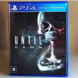 Jogo para ps4 - Until Dawn