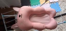 Almofada flutuante para banho bebê