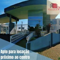 Apto para locação próximo ao centro, no Residencial João de Barro
