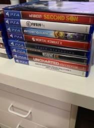 Título do anúncio: Jogos PS4 - Seminovos