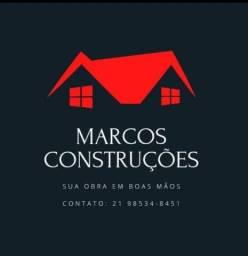 Marcos Construções - Construção Civil - Reformas - Hidráulica