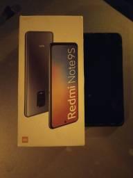 Título do anúncio: Redmi Note 9S sem marcas de uso na caixa com nota fiscal de compra