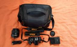 Título do anúncio: Câmera Profissional Nikon D3100