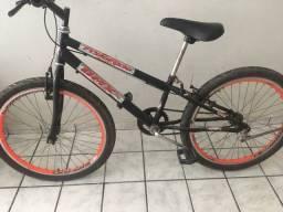 Bicicleta aro 24 preta