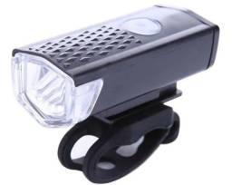 Kit Bike Luz dianteira e traseira USB - Novo
