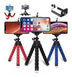 Mini Tripé Suporte Flexível para celular - Flexi Pod