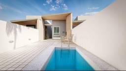 Vendo belíssima casa com piscina na praia de carapibus