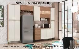 Título do anúncio: Cozinha Napoli 05 peças 100% MDF - Ronipa