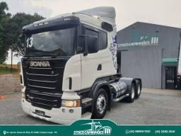 Scania R440, 6x2, ano 2013, impecável