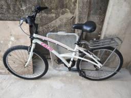 Bicicleta feminina de alumínio
