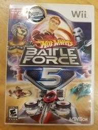 Hot wheels battle force 5 nintendo wii