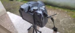 Câmera semi profissional Nikon P600 com wifi