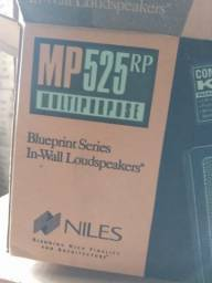 Niles MP525 RP- alto falante  de embutir- Grade branca
