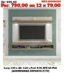 Painel para Tv até 65 plg com led - Top de Linha - Direto da Fabrica
