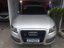 Título do anúncio: Audi Q5, 2010, prata, completo, Flex, IPVA 2021, entrada + 48X 1270