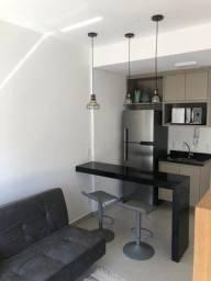 Apartamento com 1 dormitório para alugar, 35 m² por R$ 1.900,00/mês - Jardim Tarraf II - S