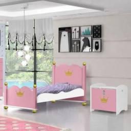 Cama Infantil Princesa Rosa A
