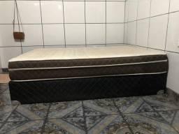 Cama box casal- 300 reais