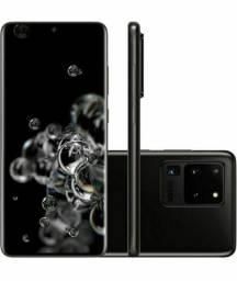 Samsung Galaxy S20 Ultra 512Gb seminovo na caixa com NF