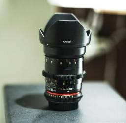 Lente Rokinon 35mm T1.5 Cine Para Canon Ef