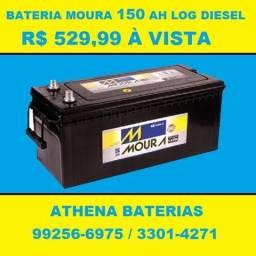 Bateria Moura 150AH (15 meses de Garantia)