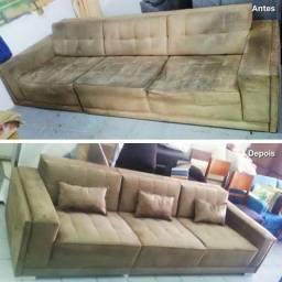 Reforma de sofás em geral!!!! Tapeçaria artesano