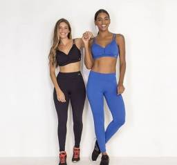 Legging Active Feminina Preto ou Azul - 4226022
