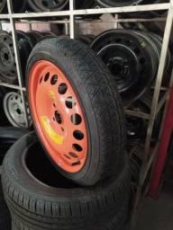 Roda estepe original do Onix aro 16 com pneu 115/70/16