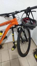 Bicicleta Caloi Aro 29 e acessórios (parcelo no cartão)