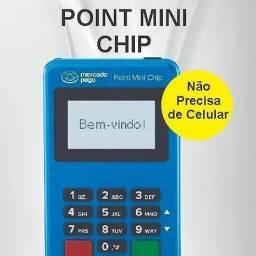 Máquina de cartão Point Mini Chip Mercado Pago