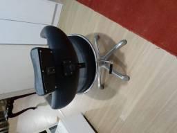 Cadeira para maquiagem hidráulica