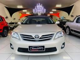 Corolla xei 2013 automático + kit multimídia, carro impecável !!!