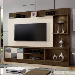 Home Dinamarca para TV ate 65' com LED e suporte TV incluso - Entrega Grátis