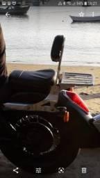 Sissy bar para moto custom