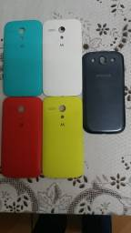 Capinhas de celular originais Moto G e samsung S3