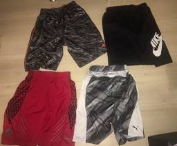 Kit shorts - 4 shorts - Nike / Puma / AND1