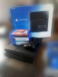 PS4 com caixa