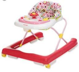 Andador bebê rosa Voyage