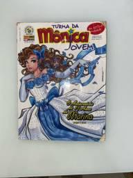 Gibi: Turma da Mônica jovem ?O aniversário de quinze anos da Marina?