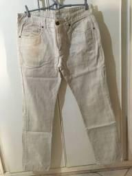 calça jeans siberian bege