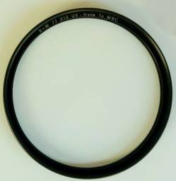 Filtro UV para câmera fotográfica 77mm B+W