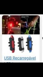 Sinalizador traseiro USB