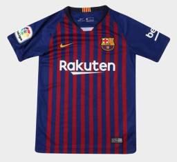 Camisa Barcelona 2018 Uniforme 1 Tamanho G