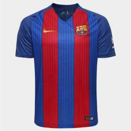 Camisa Barcelona 2016 uniforme 1 Tamanho G