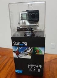 Título do anúncio: Gopro Hero 4 Black + Extensor de Bateria 5h
