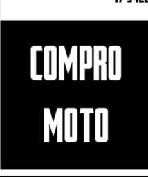 Compr00 moto/ em dias/ atrsada/ batida / alienada